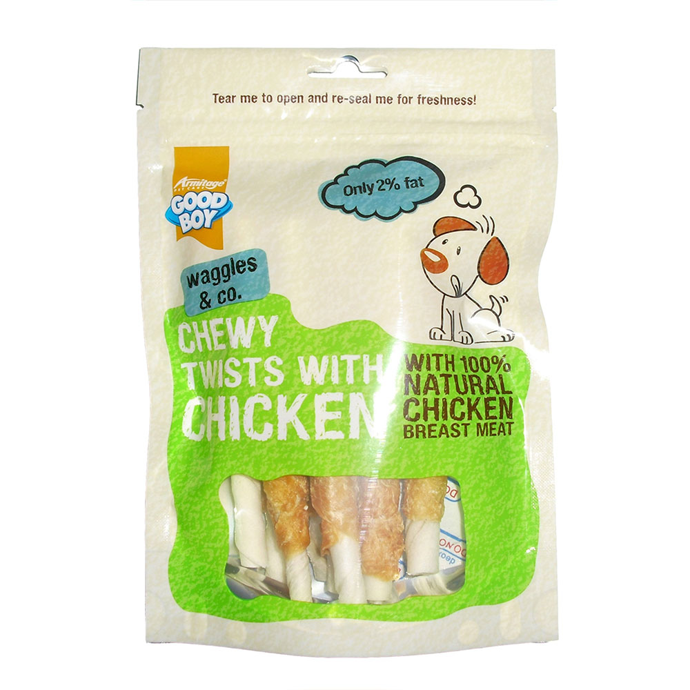 Good Boy Chicken Chewy Twists