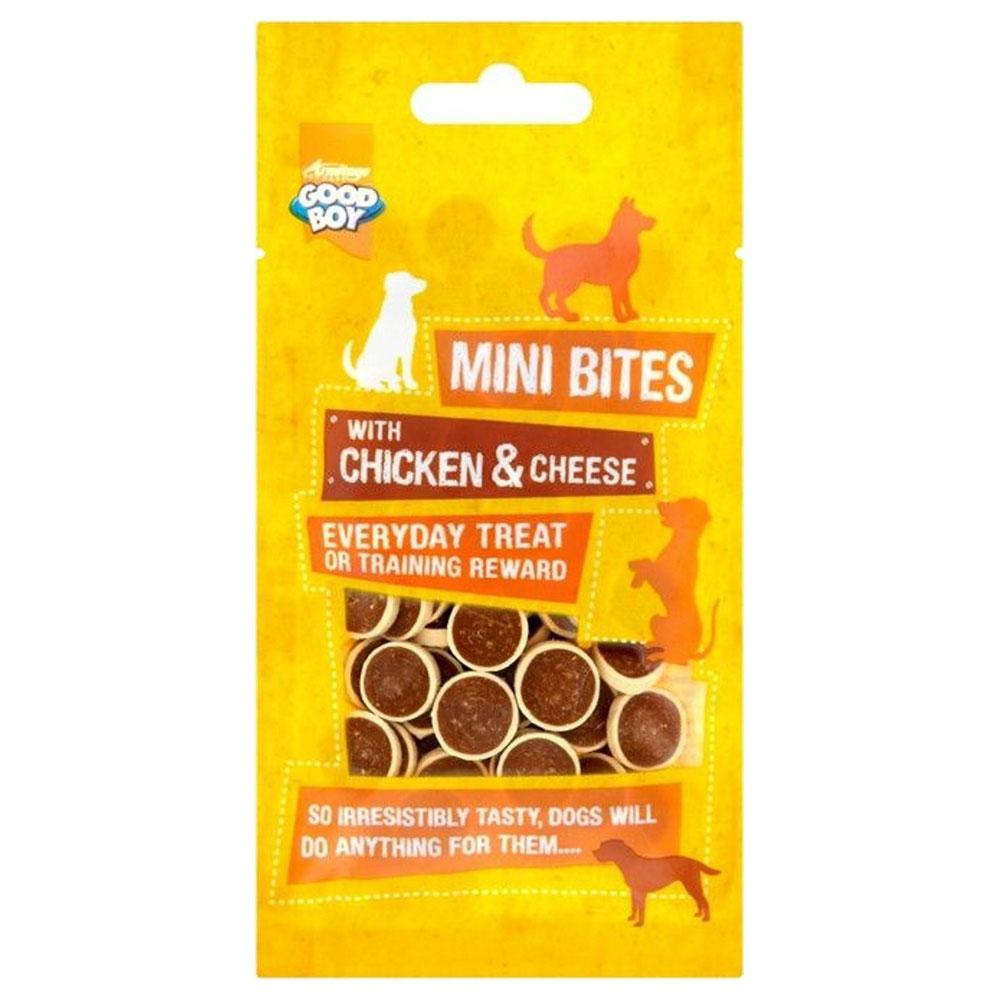 Good Boy Mini Bites Chicken and Cheese