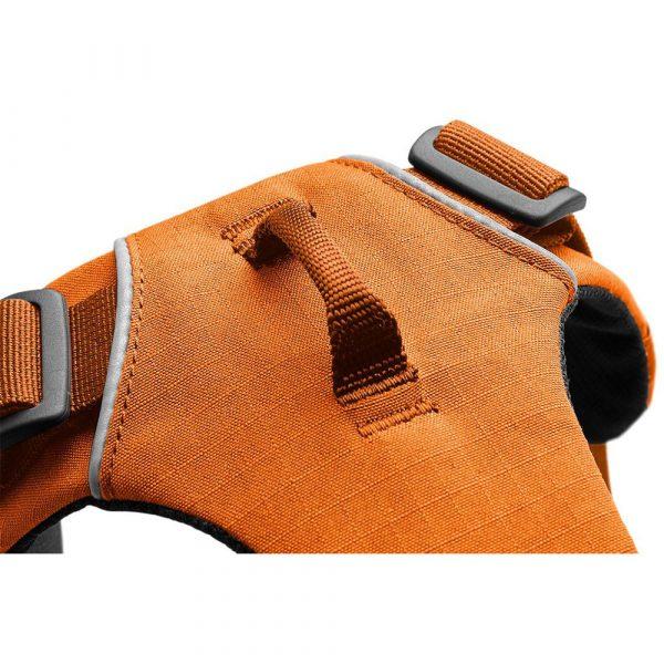 Ruffwear-Front-Range-Harness-Orange-Poppy-Detail
