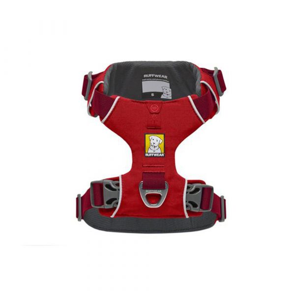 Ruffwear-Front-Range-Harness-Red-Sumac-Above