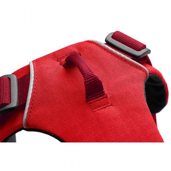 Ruffwear-Front-Range-Harness-Red-Sumac-Detail