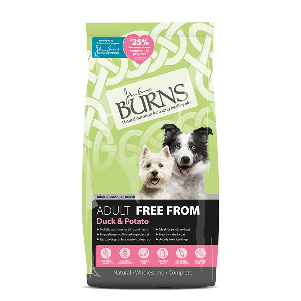 Burns Free From Adult Duck and Potato