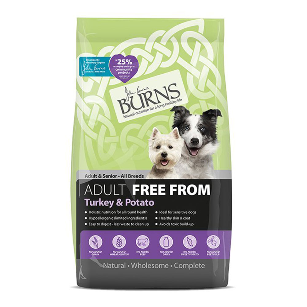 Burns Free From Adult Turkey and Potato