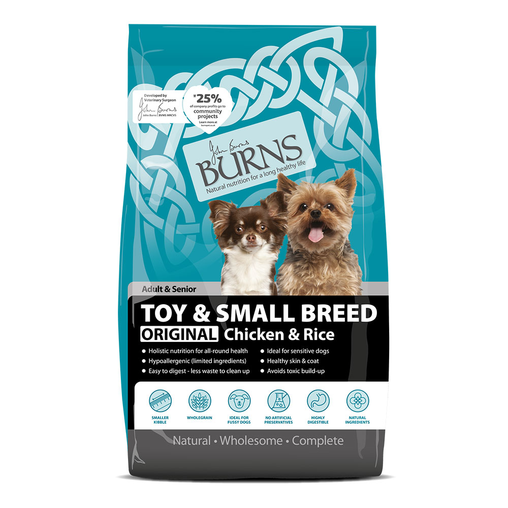 Burns Toy and Small Breed Chicken and Rice