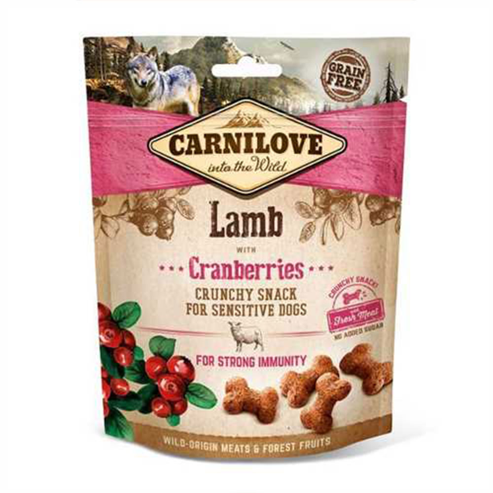 Carnilove Lamb with Cranberries Crunchy Treat
