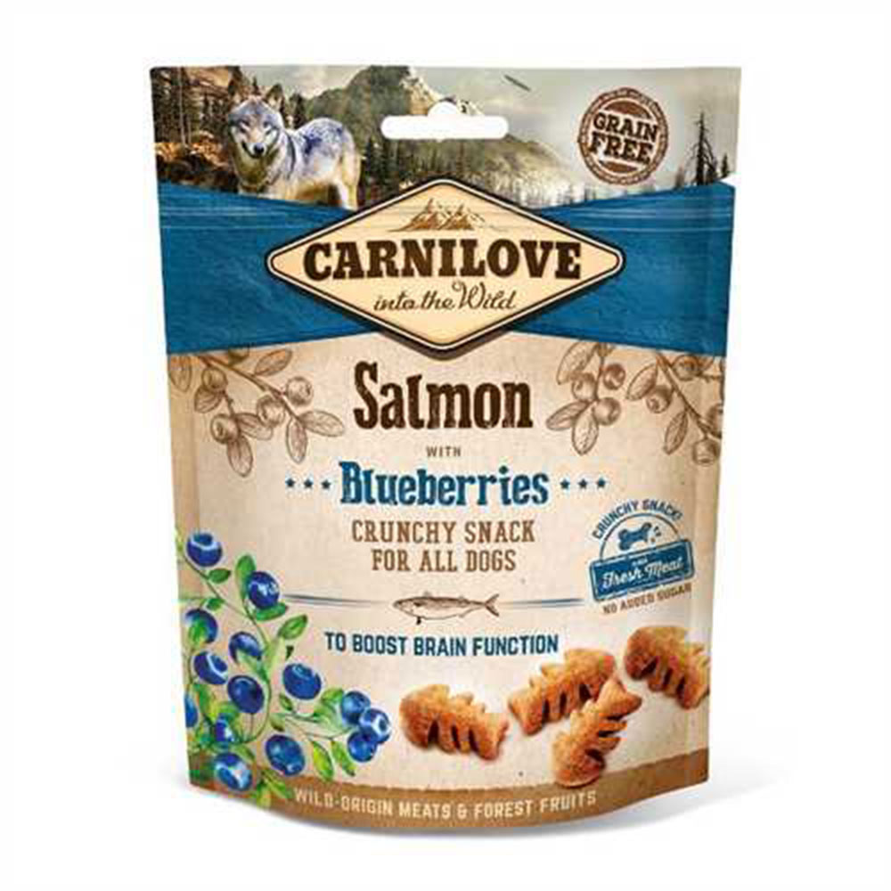 Carnilove Salmon and Blueberries Crunchy Treat