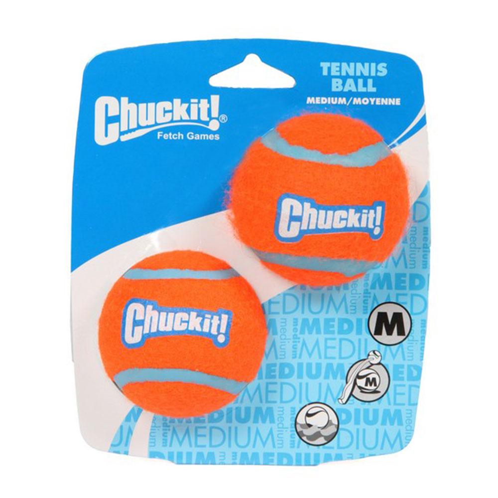 Chuckit Tennis Ball 2 Pack Medium