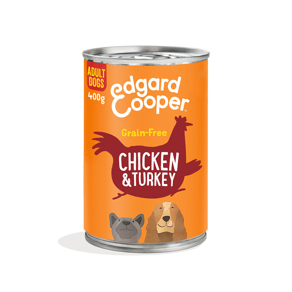 Edgard and Cooper Succulent Chicken and Turkey Adult