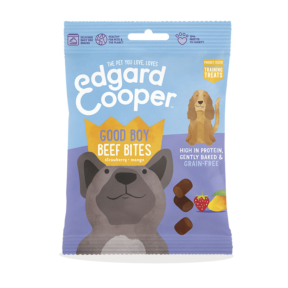 Edgard and Cooper Good Boy Beef Bites