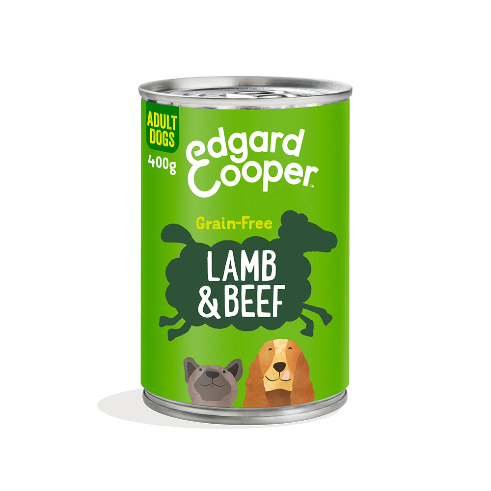 Edgard and Cooper Irresistible Lamb and Beef Adult