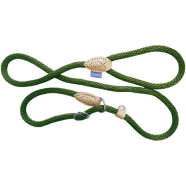 Hemm-and-Boo-Soft-Nylon-Rope-Slip-Lead-and-Halter-Green