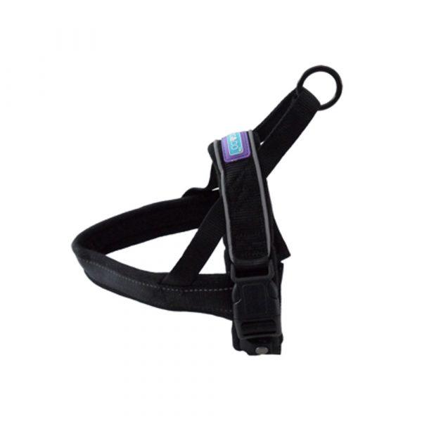 Hemmo-Padded-Harness-Black