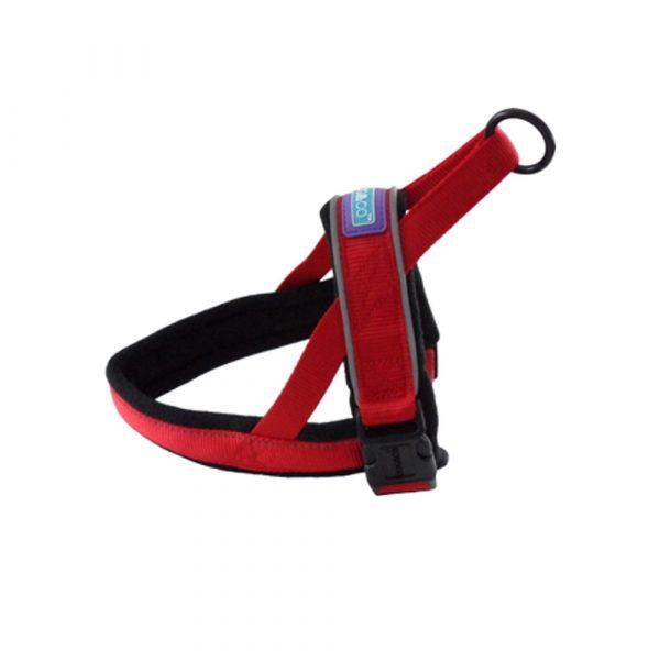 Hemmo-Padded-Harness-Red