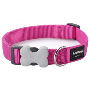Red-Dingo-Collar-Classic-Hot-Pink