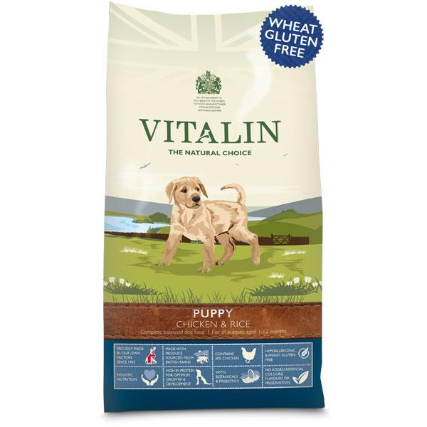 Vitalin Puppy Chicken and Rice