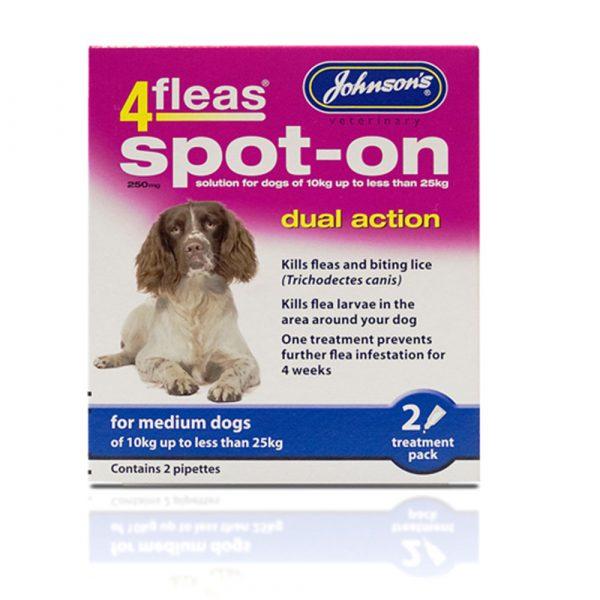 Johnsons-4fleas-Spot-On-For-Dogs-Medium