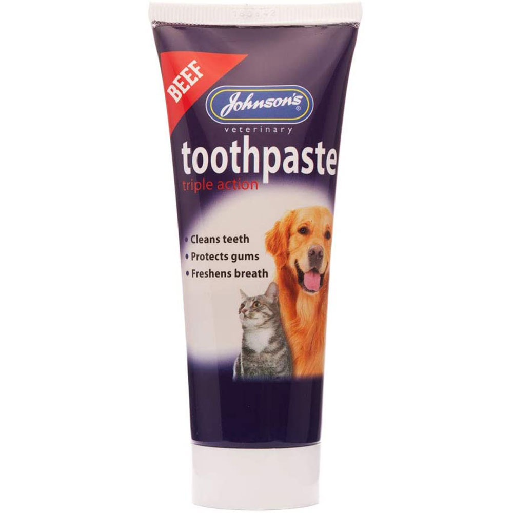 Johnsons Beef Flavoured Dog Toothpaste 50ml