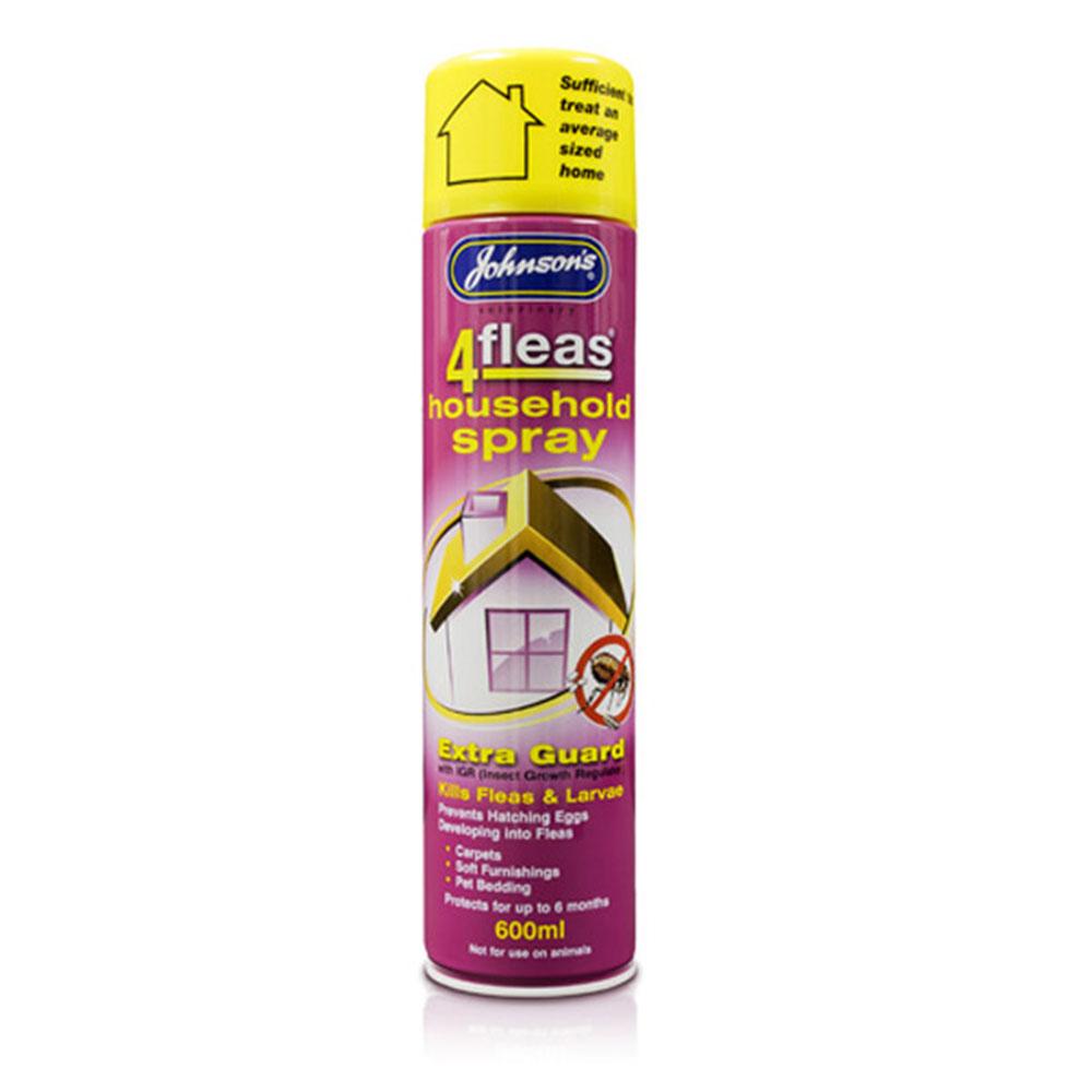 Johnsons 4Fleas Household Spray 600ml
