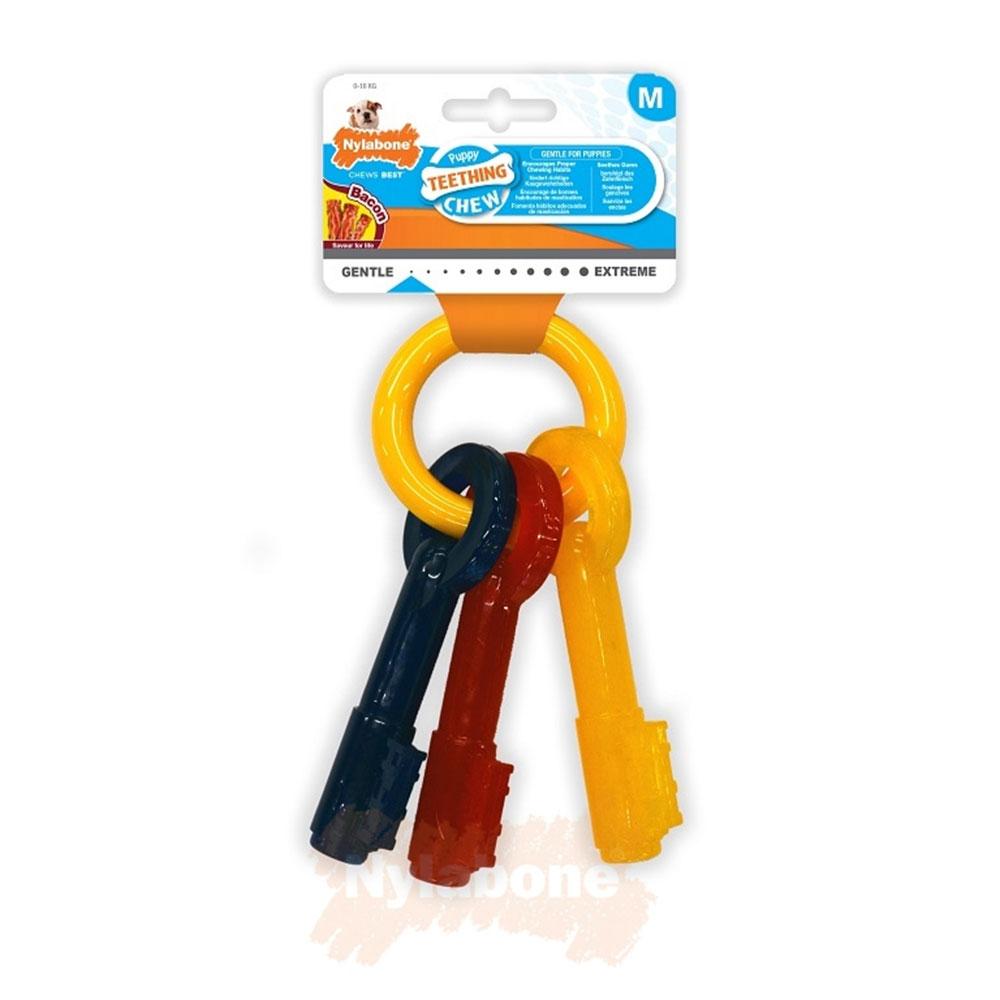 Nylabone Puppy Teething Chew Keys Medium