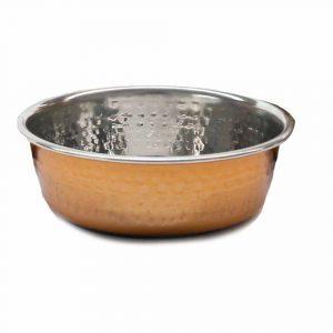 Rosewood Copper Pet Bowl