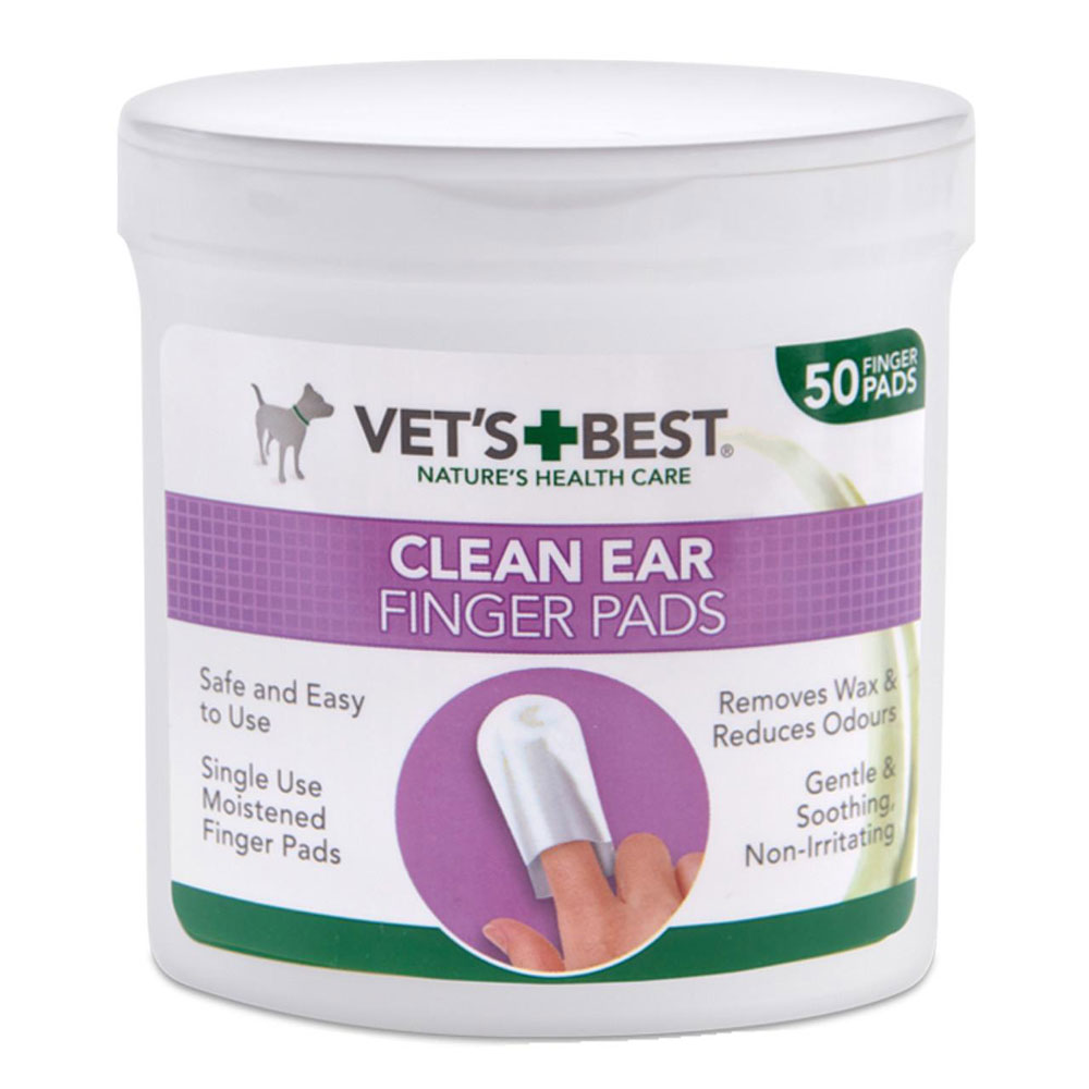 Vets Best Ear Cleaning Finger Pads