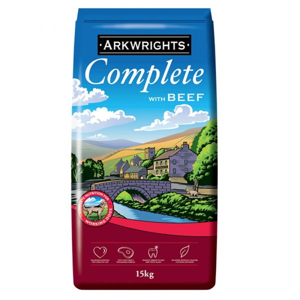 Arkwrights Beef dry Dog Food