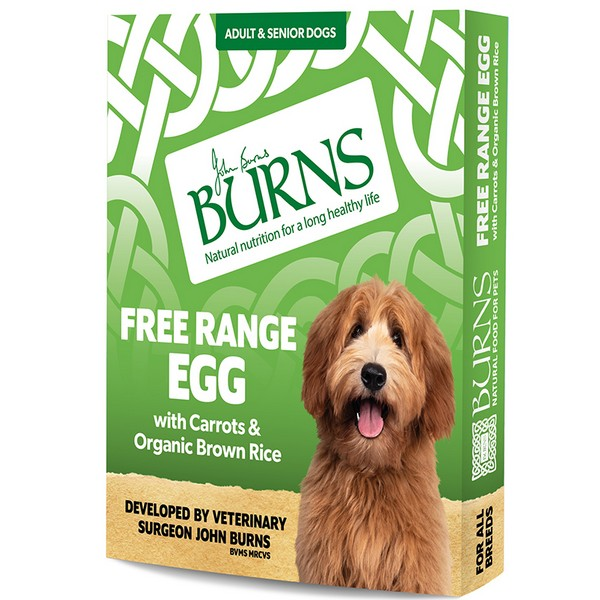 Burns Free Range Egg Wet Dog Food