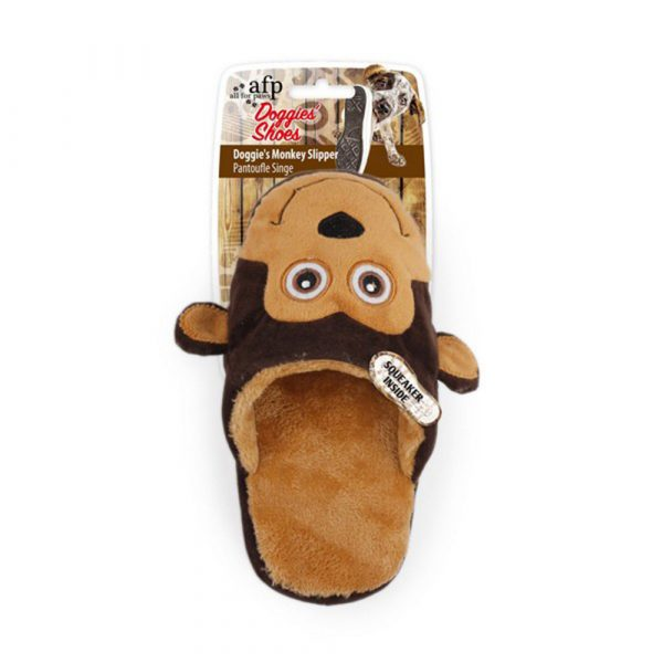 All-For-Paws-Monkey-Slipper-Dog-Toy