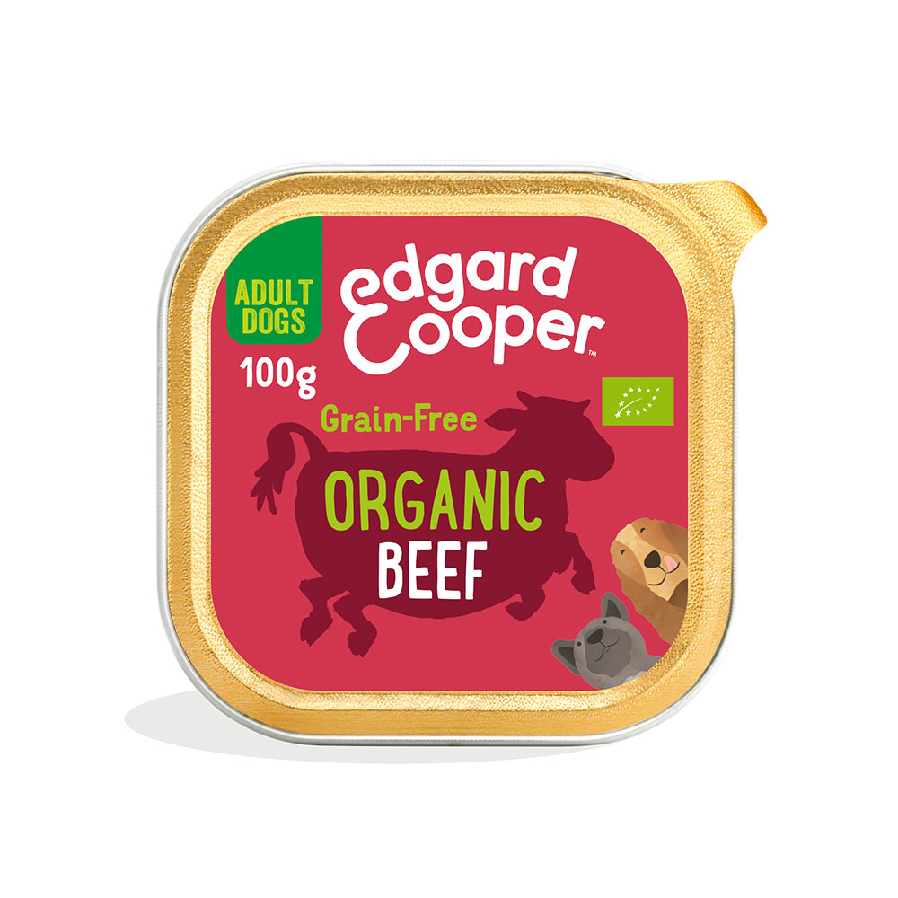 Edgard and Cooper Organic Beef Cup 100g