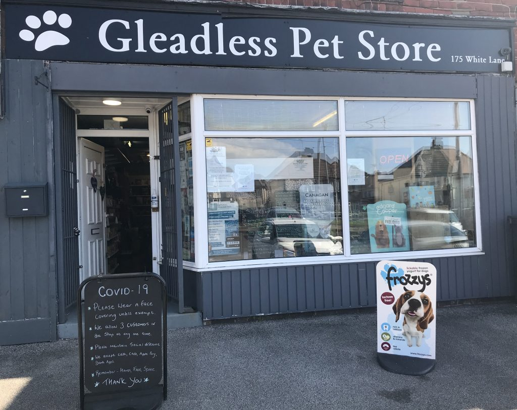Gleadless Pet Store