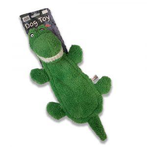 Animate Big Teeth Crocodile Dog Toy