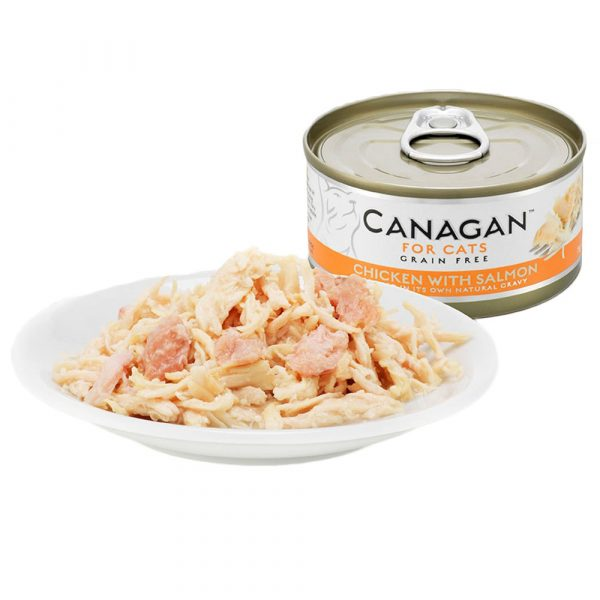 Canagan Chicken and Salmon Wet Cat Food 75g
