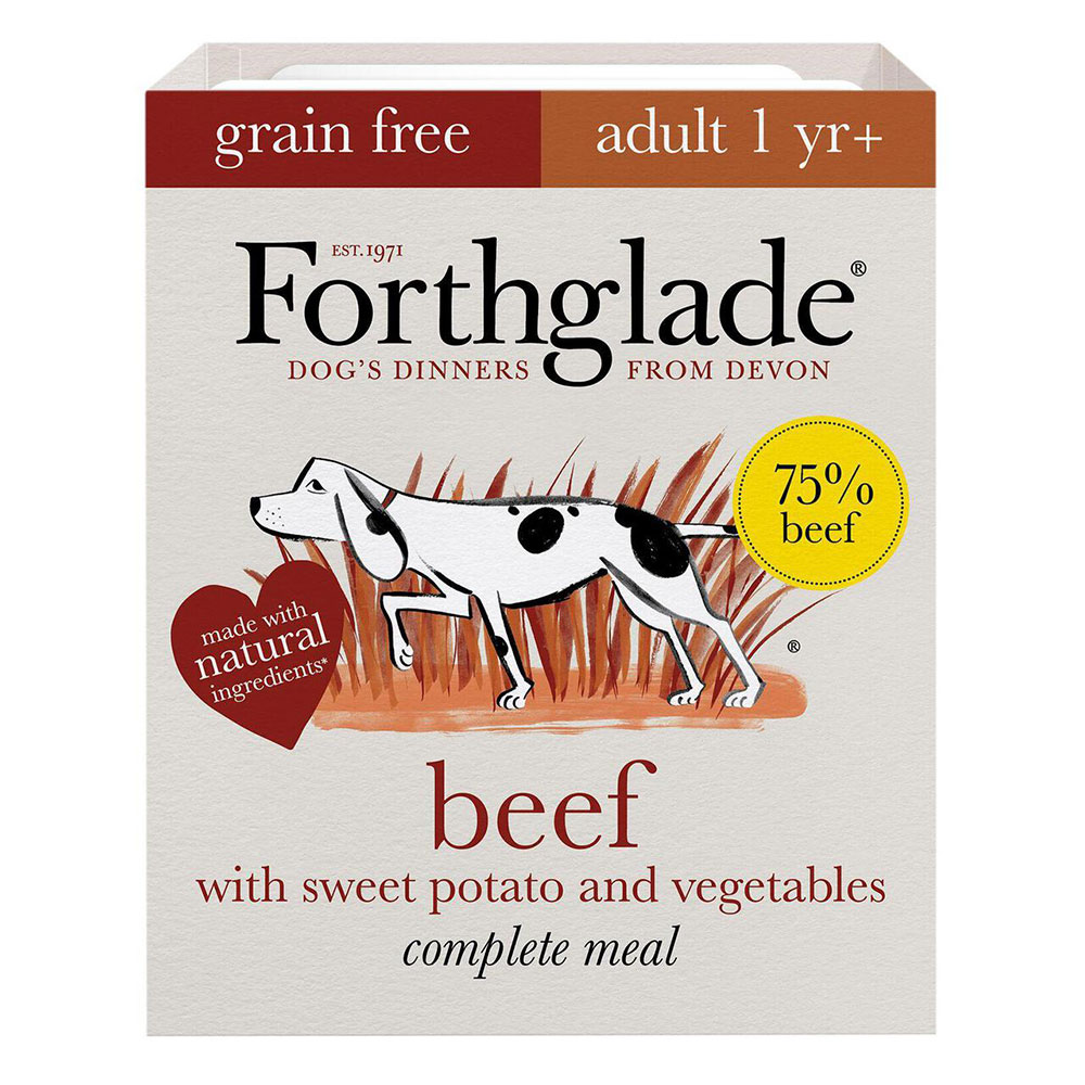 Forthglade Grain Free Adult Beef and Veg