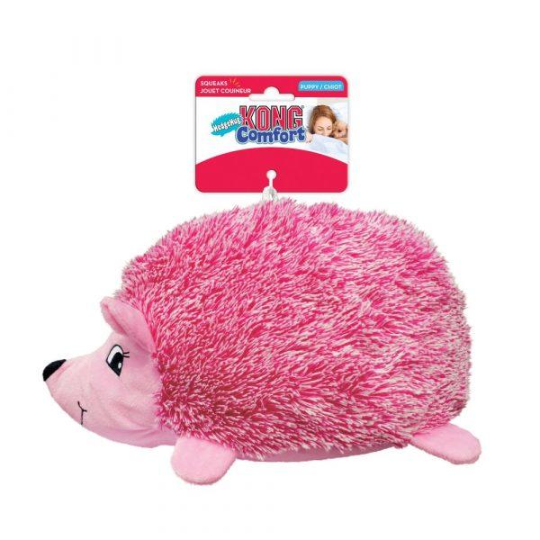 Kong Comfort Hedgehog Puppy Toy Card