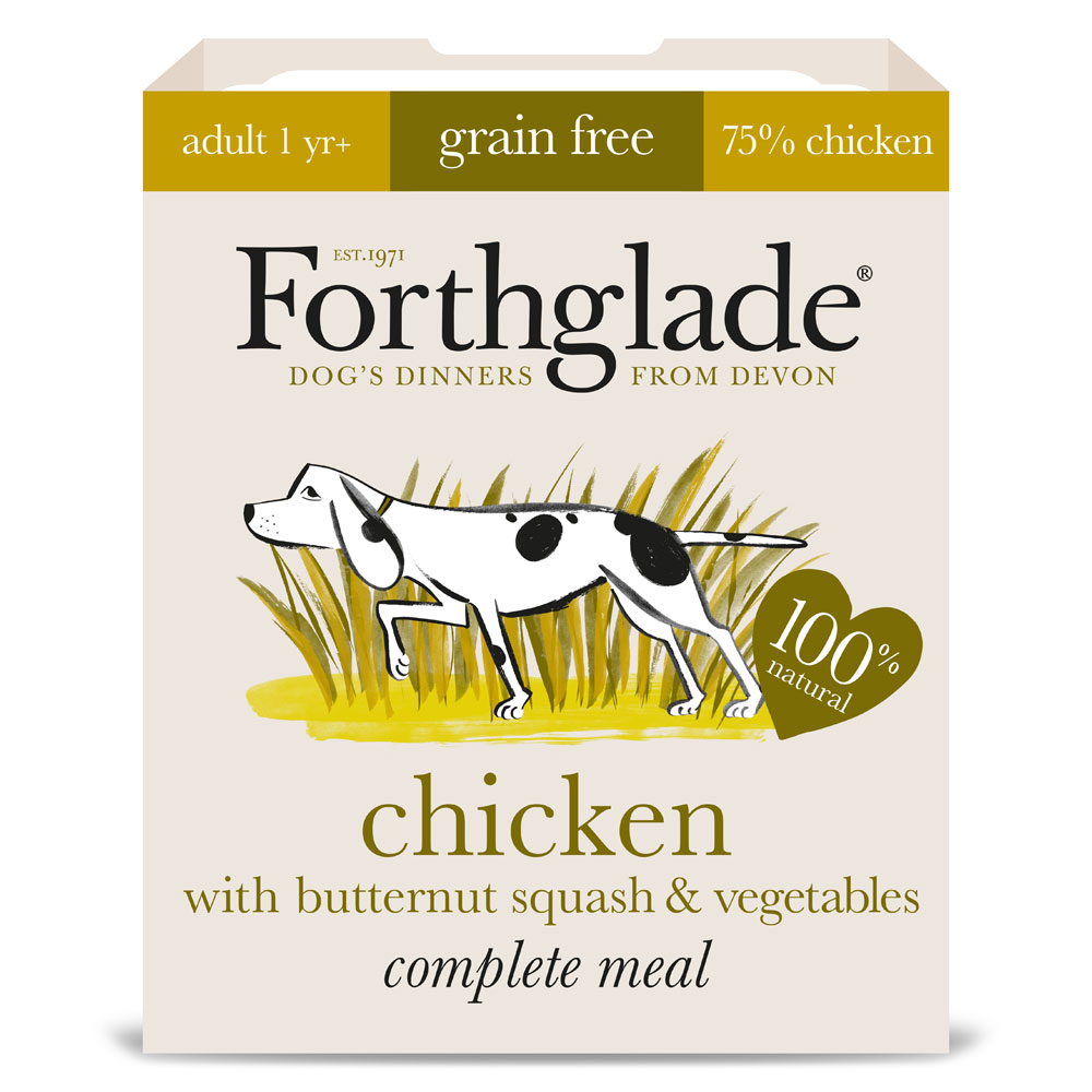 Forthglade Grain Free Chicken and Butternut Squash