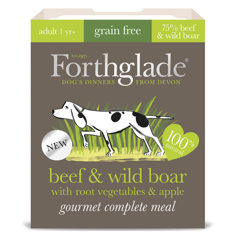 Forthglade Gourmet Beef and Wild Boar