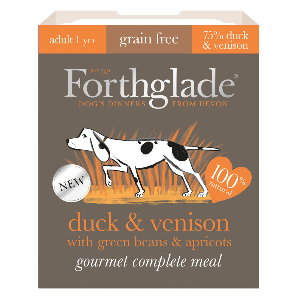 Forthglade Gourmet Duck and Venison
