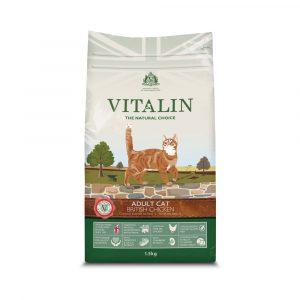 Vitalin Chicken Adult Dry Cat Food 1.5 kg