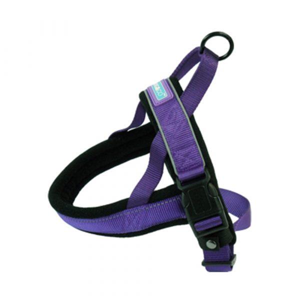 Hemmo Padded Dog Harness Purple