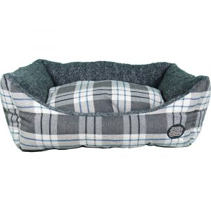 Snug-and-Cosy-Kensington-Check-Pet-Bed
